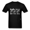 Tacos Every Day T-Shirt - black