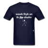 Walk Like an Egyptian T-Shirt - navy