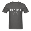 Bowling T-Shirt - charcoal