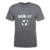 Soccer T-Shirt - mineral charcoal gray