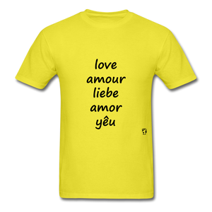 Love in Five Languages - yellow