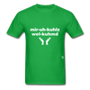 Miracles Welcomed T-Shirt - bright green