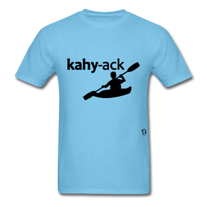 Kayak T-Shirt - aquatic blue