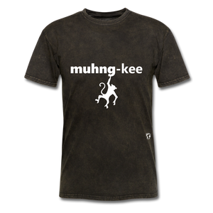 Monkey T-Shirt - mineral black