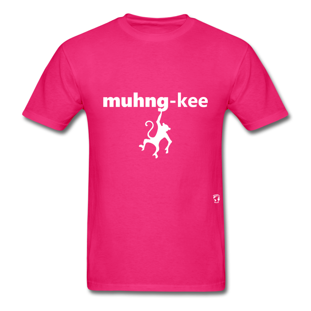Monkey T-Shirt - fuchsia