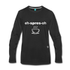Espresso Long Sleeve T-Shirt - black
