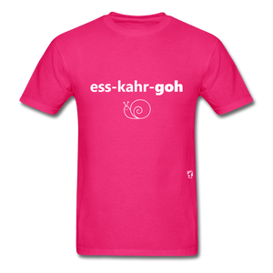 Escargot T-Shirt - fuchsia
