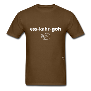 Escargot T-Shirt - brown