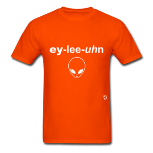 Alien T-Shirt - orange