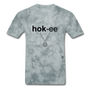 Hockey T-Shirt - grey tie dye