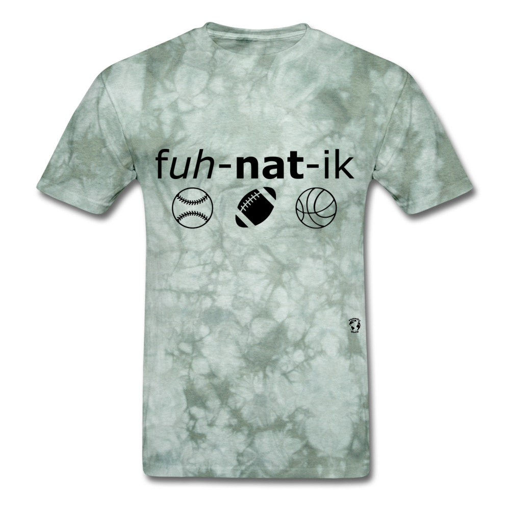 Sports Fanatic T-Shirt - military green tie dye