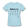 Dancing T-Shirt - powder blue