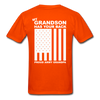 Army Grandpa T-Shirt - orange