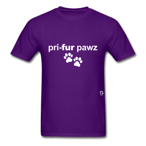 Prefer Paws T-Shirt - purple