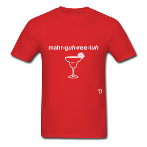 Margarita T-Shirt - red