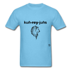 Courageous T-Shirt - aquatic blue