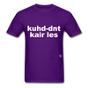 Couldn't Care Less T-Shirt - purple