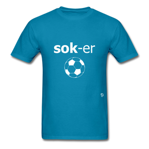 Soccer T-Shirt - turquoise