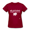 Elephant Sanctuary T-Shirt - dark red