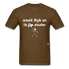 Walk Like an Egyptian T-Shirt - brown