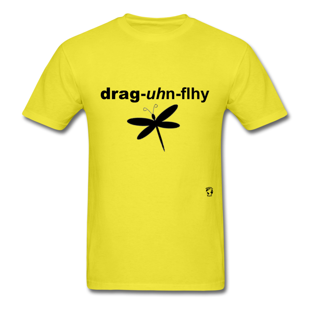 Dragonfly T-Shirt - yellow