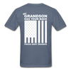 Army Grandpa T-Shirt - denim