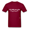Hilarious T-Shirt - burgundy