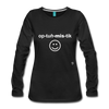 Optimistic Long Sleeve T-Shirt - black