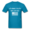 American Loyalty T-Shirt - turquoise