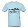 Wild Cats T-Shirt - powder blue