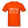 Tacos Every Day T-Shirt - orange