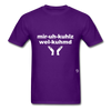Miracles Welcomed T-Shirt - purple