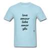 Love in Five Languages - powder blue