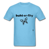 Butterfly T-shirt - aquatic blue