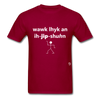 Walk Like an Egyptian T-Shirt - dark red
