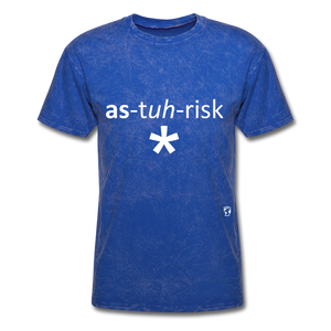 Asterisk T-Shirt - mineral royal