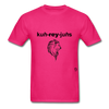 Courageous T-Shirt - fuchsia