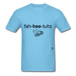 Fajitas T-Shirt - aquatic blue