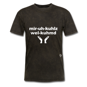 Miracles Welcomed T-Shirt - mineral black