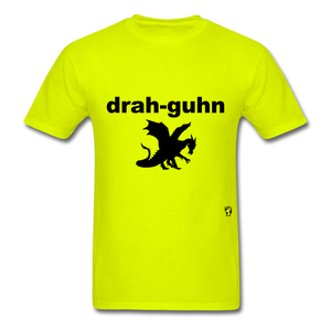 Dragon T-Shirt - safety green