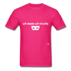 Anonymous T-Shirt - fuchsia