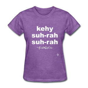 Que Sera Sera T-Shirt - purple heather