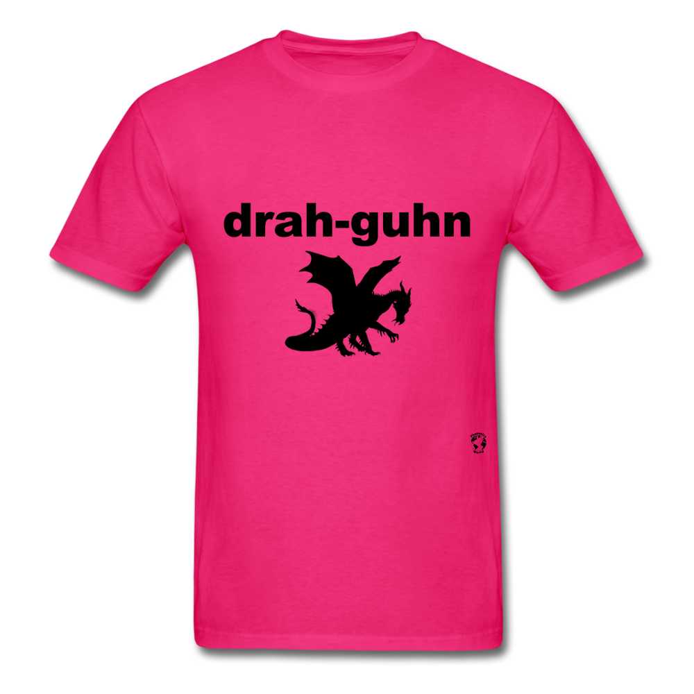 Dragon T-Shirt - fuchsia