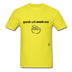 Guacamole T-Shirt - yellow