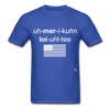 American Loyalty T-Shirt - royal blue