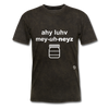I Love Mayonnaise T-Shirt - mineral black