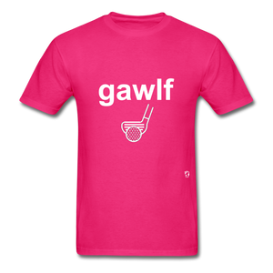 Golf T-Shirt - fuchsia