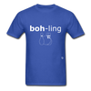 Bowling T-Shirt - royal blue