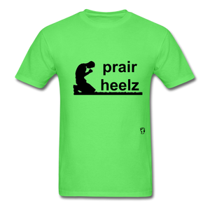 Prayer Heals T-Shirt - kiwi