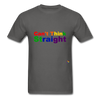 Can't Think Straight T-Shirt - charcoal